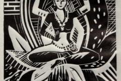 """Lakshmii"", 2016, X3, 18x12cm"