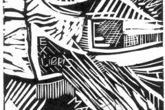 """Masha's Exclibis"", 2003, X3, 10x10cm"