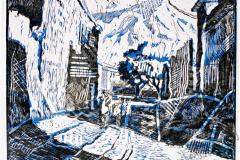"""""""Street"""", 2005, X3, 22.5x28cm"""