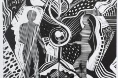 """""""Adam and Eve"""", 2010, X3, 29x26cm"""