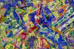 """Causeless joy"", 2011, paper/mixed media, 32x32cm"
