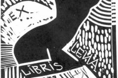 """""""Leya's Exclibis"""", 2003, X3, 10x9.5cm"""