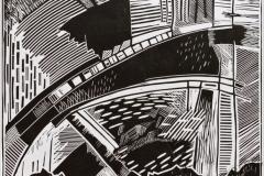 """""""Heavenly Bridge"""", 2004, X3, 38x39cm"""