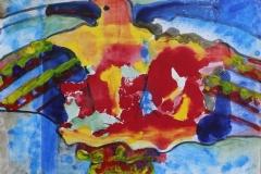 """""""Phoenix"""", 2012, paper/mixed media"""