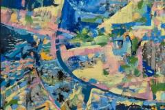 "\""Atlantis\"", 2000, canvas/tempera, 80x60"