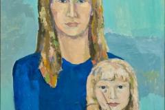 """""""Gioconda minus"""", 2008, canvas/oil, 50x70"""