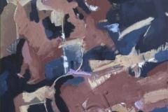 """Composition 4"", January 2013, canvas/oil, 50x35"
