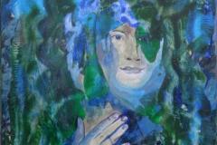 """Water"", October 2015, canvas/acrylic, 70x50"