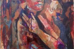 """Earth"", October 2015, canvas/acrylic, 70x50"