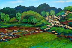 """Stone river"", 2019, canvas/oil, 60х80cm"