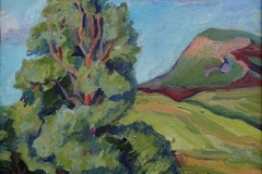 """Summer"", 2014, canvas/oil. 40x30"