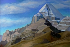 """Kailas"", August 2014, canvas/oil, 40x60"